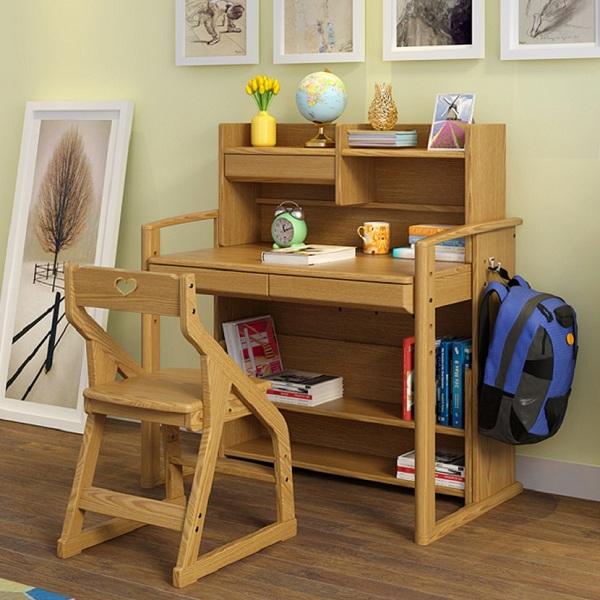 Phân tích ưu nhược điểm của bàn học trẻ em bằng gỗ tự nhiên