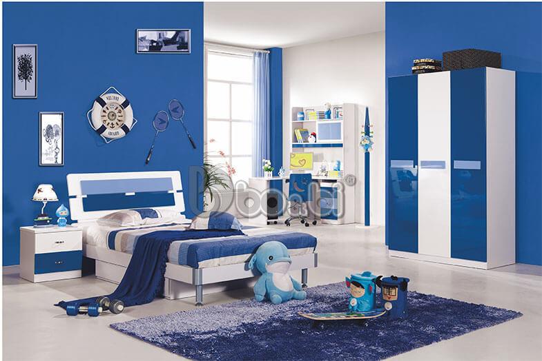 Mẫu phòng ngủ đẹp cho bé trai năng động