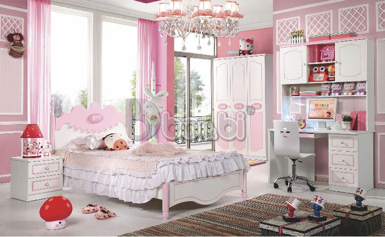 Một số mẫu phòng ngủ màu hồng phấn đẹp cho công chúa nhà bạn