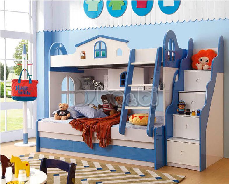 Giá giường tầng trẻ em bằng gỗ công nghiệp