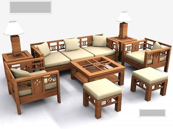Các ưu điểm vượt trội của bàn ghế gỗ sồi phòng khách