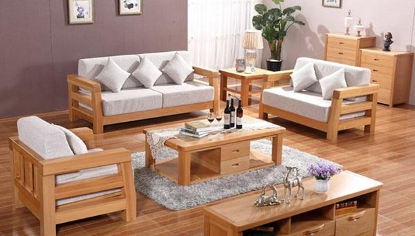 TOP các mẫu ghế sofa gỗ được ưa chuộng nhất 2020