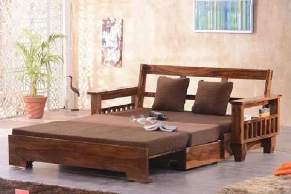 Ghế sofa giường bằng gỗ - Những lý do nên chọn?
