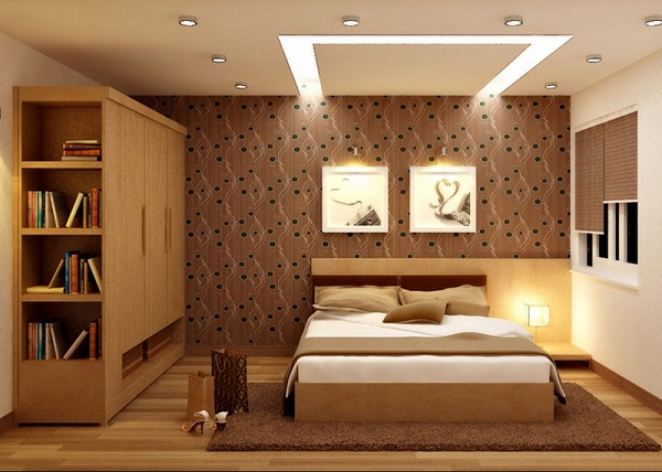 Cách bố trí tủ quần áo trong phòng ngủ theo phong thủy