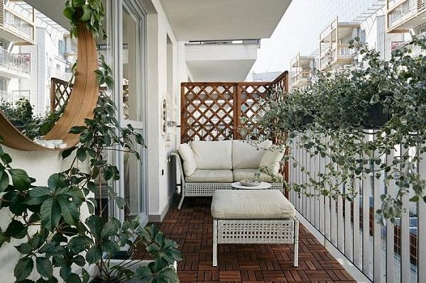 Tham khảo: Những ý tưởng làm đẹp ban công ở chung cư