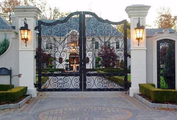 Kích thước cổng nhà vườn theo phong thủy, vượng tài lộc