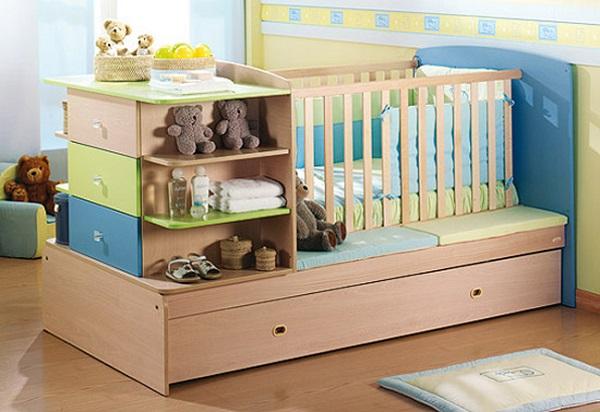 Những ưu điểm vượt trội của giường cũi đa năng cho bé