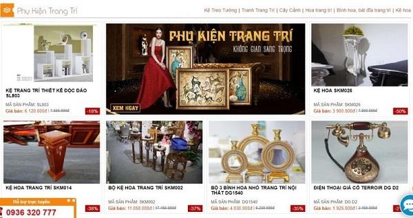 Đơn vị mua đồ trang trí nội thất giá sỉ hàng đầu Việt Nam