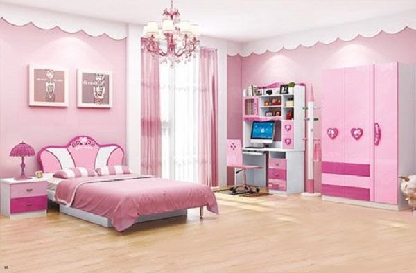 List những căn phòng ngủ dễ thương dành cho bé gái 2020