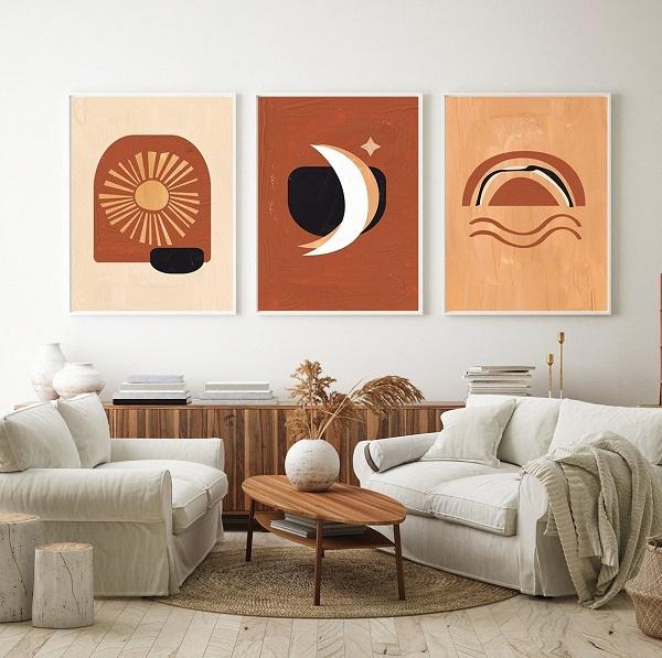 [BST] tranh trang trí phòng khách sang trọng bán chạy nhất 2020