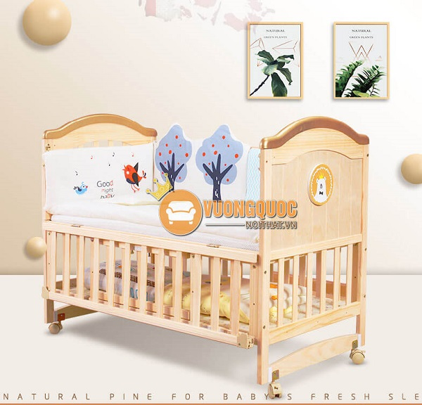 Bảng giá chi tiết mẫu giường cũi trẻ em mới nhất 2020