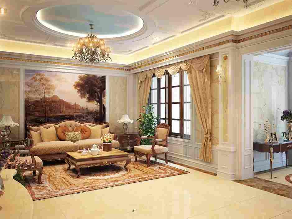 Những mẫu đèn chùm trang trí nội thất ấn tượng cho phòng khách