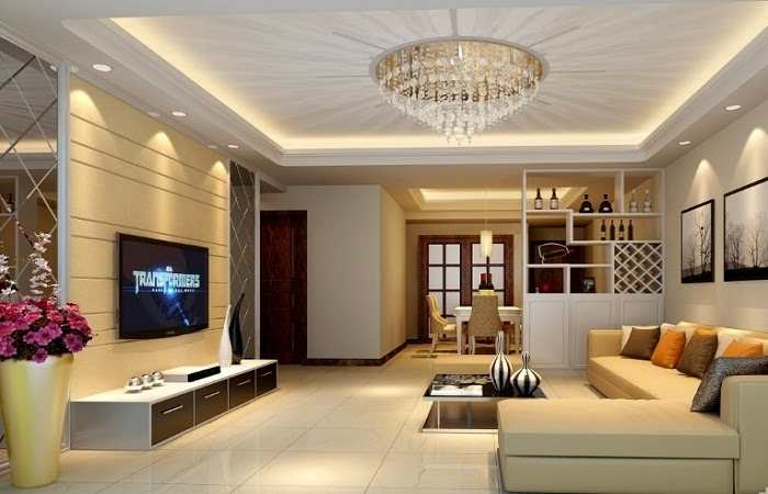 Lựa chọn đèn chùm cho phòng khách chung cư thêm thẩm mỹ