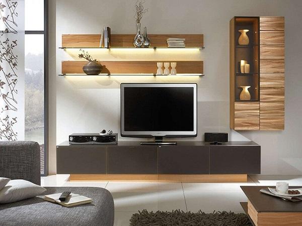 Mách nhỏ cách trang trí kệ tivi phòng khách đơn giản mà đẹp