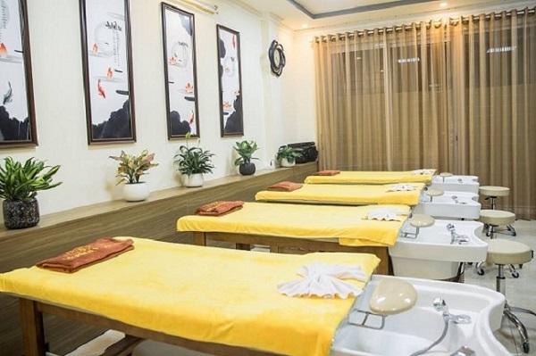 Kích thước giường gội đầu massage theo tiêu chuẩn hiện nay