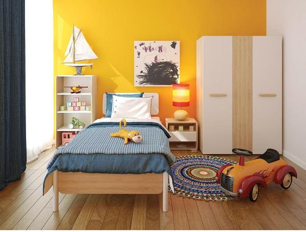 Nguyên tắc hàng đầu khi thiết kế nội thất cho bé trai
