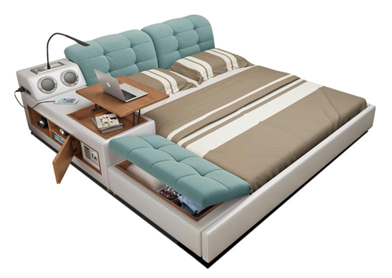 UPDATE: Các mẫu giường ngủ tiết kiệm không gian HOT 2021