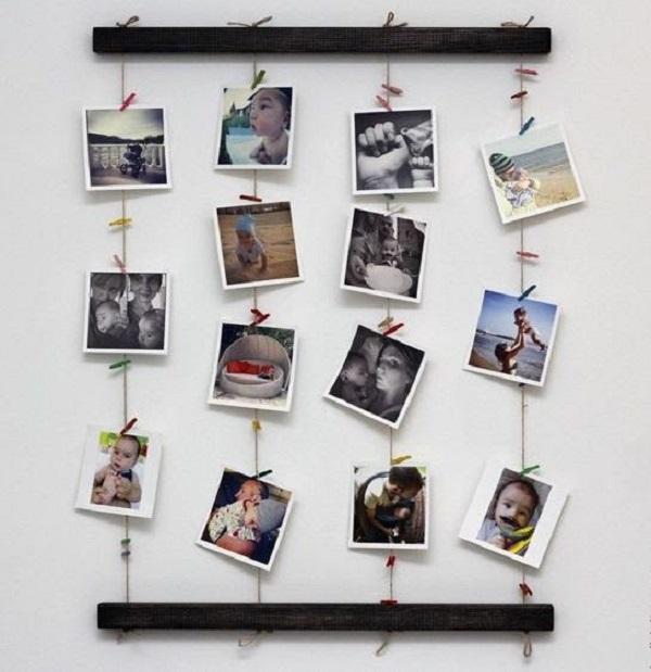 """15+ ý tưởng trang trí phòng bằng dây treo ảnh """" Cực Chất"""""""