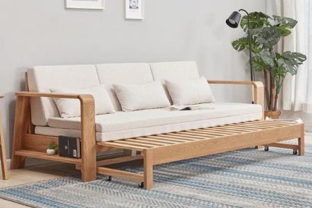 Top 8 mẫu ghế - giường gỗ 2 trong 1 đang HOT nhất hiện nay