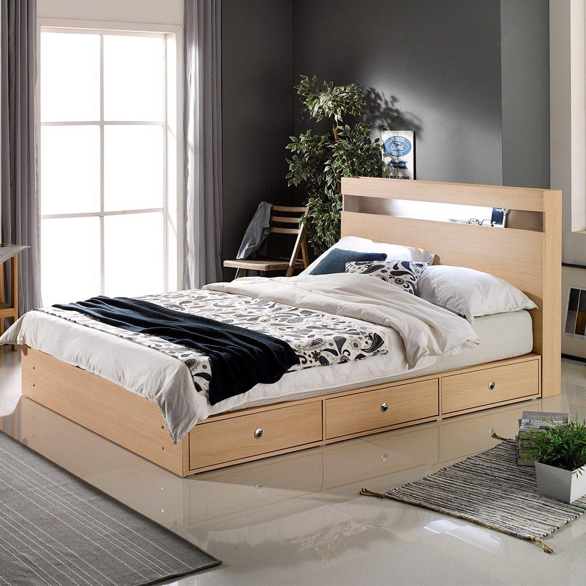 Tổng hợp các mẫu giường đơn gỗ đẹp nhất 2021