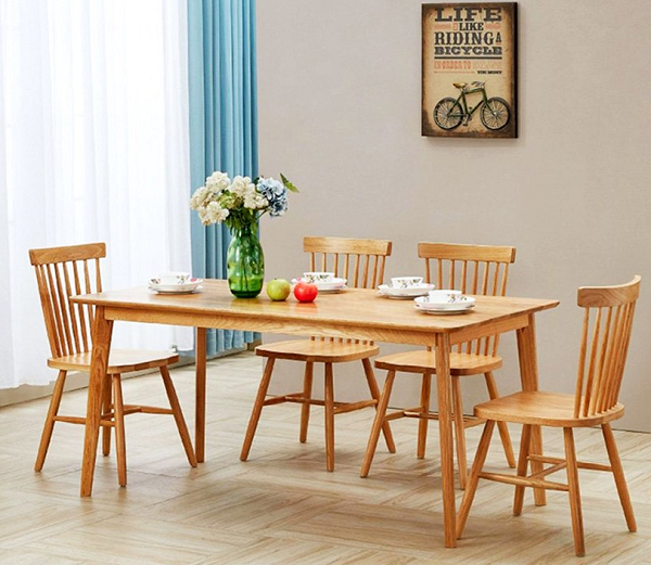Kinh nghiệm chọn mua ghế bàn ăn bằng gỗ CHUẨN nhất