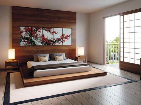 Chiêm ngưỡng 10+ mẫu giường kiểu Nhật đẹp nhất 2021