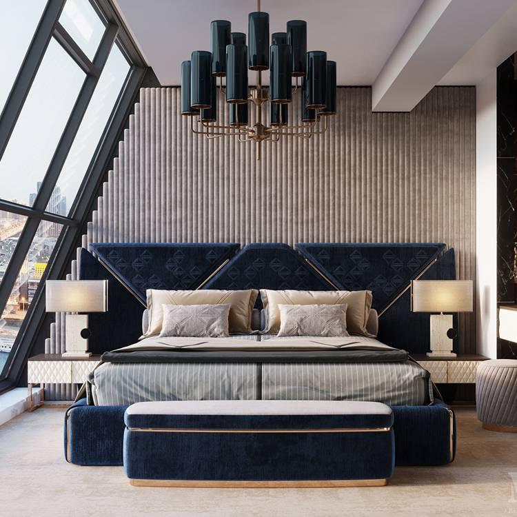 30 mẫu giường ngủ cao cấp sang trọng cho mọi không gian